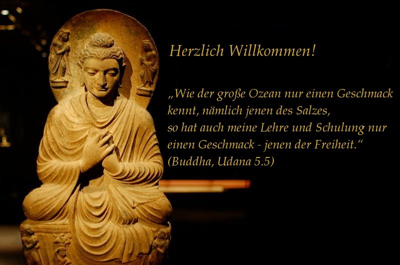 Buddhistische Meditation in der Tradition des Theravada in Aachen, Raeren, Hauset und Hergenrath